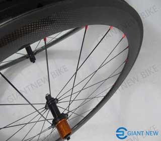 Road Carbon Wheels 60mm Tubular