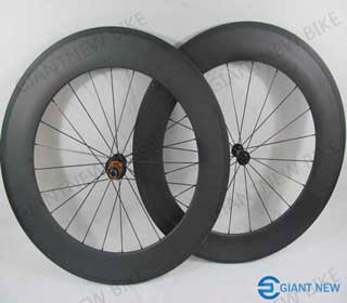 Road Carbon Wheels 88mm Clincher