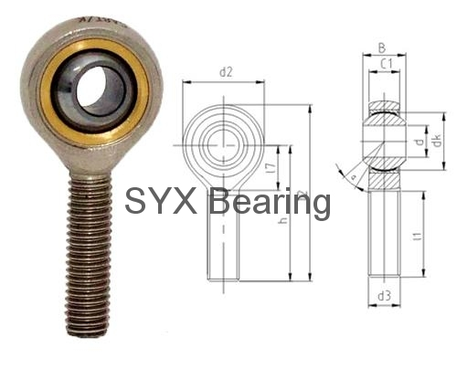 Rod End Bearing Sa12t K