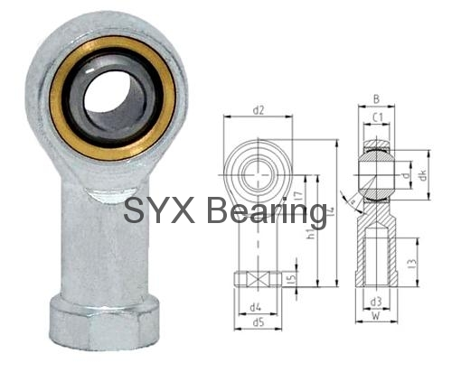 Rod End Bearing Si16t K