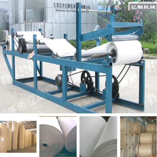 Roll Paper Paraffin Wax Coating Machine