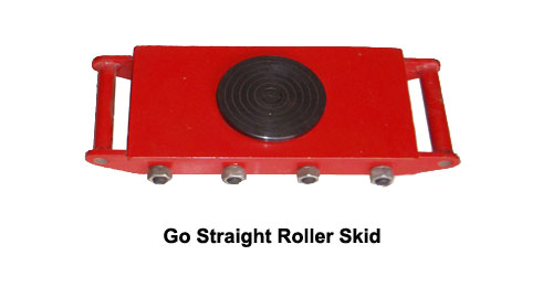 Roller Skids Load Moving Details Pictures Instruction