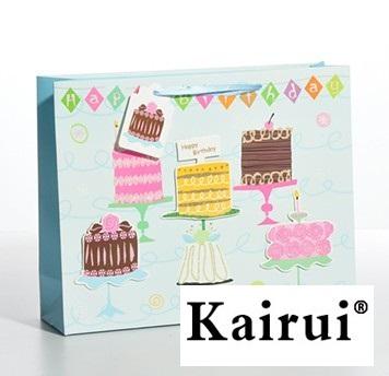 Romantic 3d Cake Birthday Gift Bag Kr089 3
