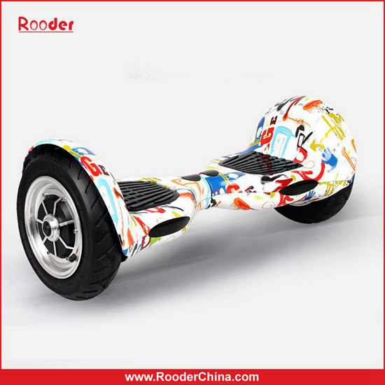 Rooder 10 Inch 2 Wheels Smart Scooter Hoverboard With Bluetooth