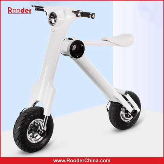 Rooder 2016 New Design Et Scooter Folding Electric Bike Fast Lightweight Mobility