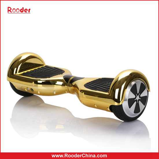 Rooder Chrome 2 Wheel Self Balancing Scooter Hoverboard