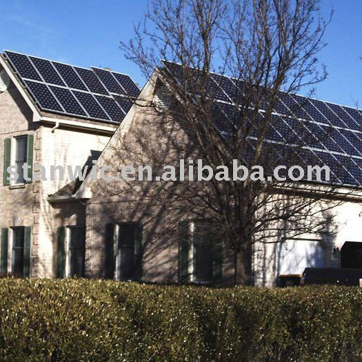 Roof Mounting Solar Tiles