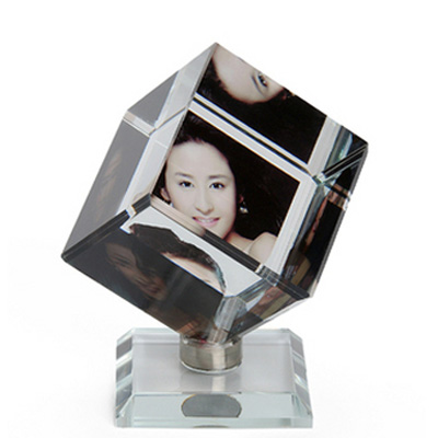 Rotaing Square Crystal