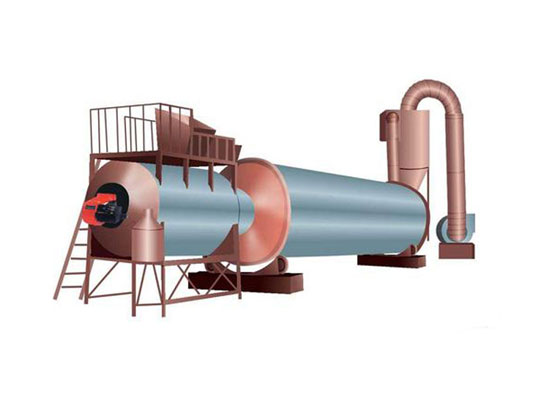 Rotary Drum Dryer For Sale