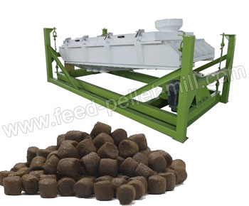 Rotary Feed Pellet Grading Sieve A Necessary Equipment For Pelletizing Plants