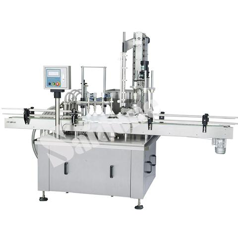 Rotary Star Wheel Filling And Capping Machine