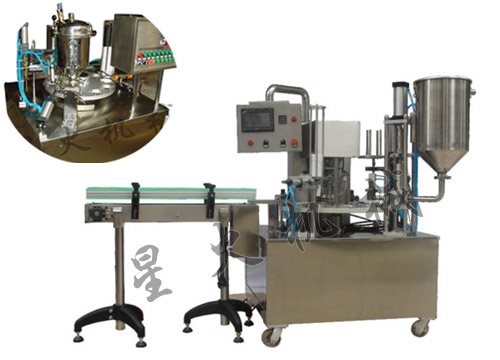 Rotary Turnplate Chili Sauce Filling Machine