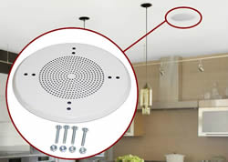 Round And Square Grilles For Ceiling Speakers