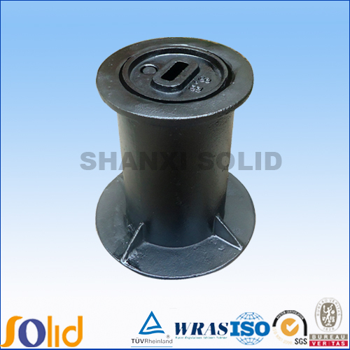 Round Cast Iron Grey Ductile Water Meter Box