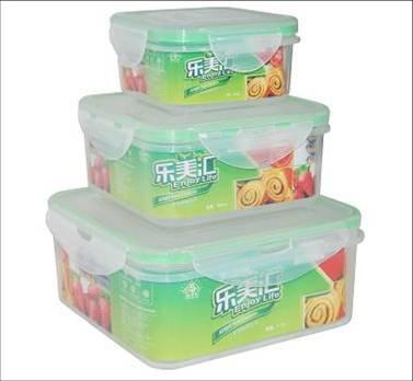 Round Food Plastic Box
