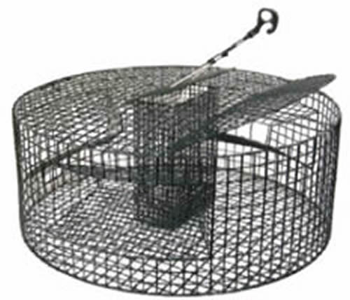 Round Shrimp Trap With Huge Loading Capacity And Sturdy Structure