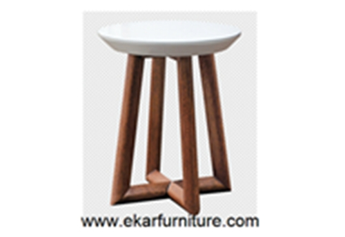 Round Table End Wooden Ot832m Ot832g