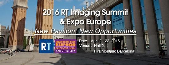 Rt Imaging Summit Expo Europe 2016