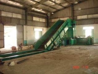 Rubber Belt Conveyor For Techgene Machinery Co Ltd