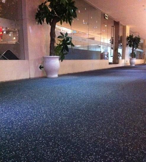 Rubber Gym Floor Roll 002