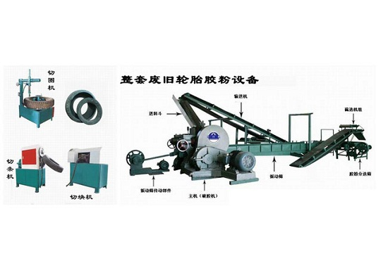 Rubber Power Production Line From Old Tire