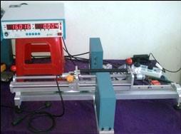 Rubber Roller Surface Laser Detector