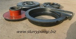 Rubber Slurry Pump Components