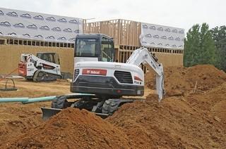 Rubber Track For Bobcat Mini Excavators Compact Loaders