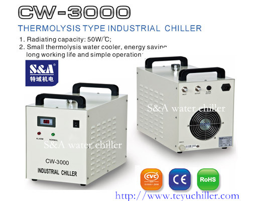 S A Cw 3000 Industrial Chiller Chinese Manufactory