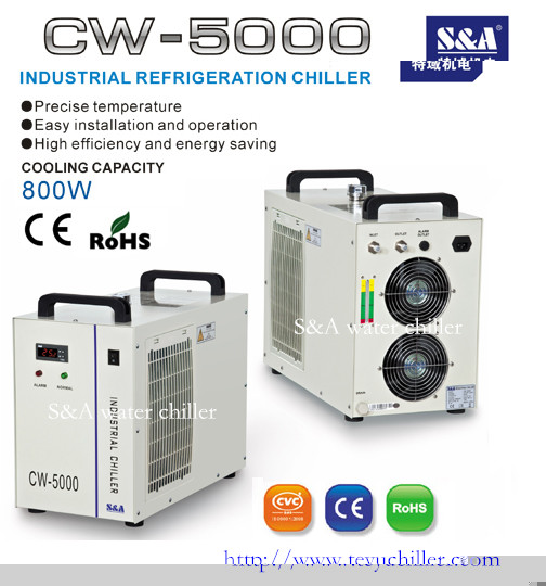 S A Cw 5000 Cooled Chiller For Uv Led System