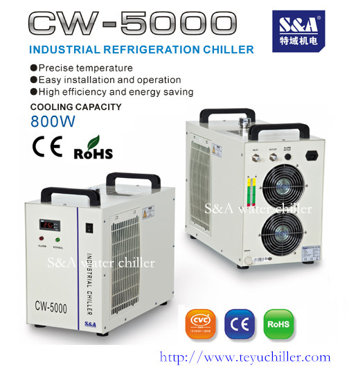 S A Industrial Chiller Cw 5000 For Laser Machine