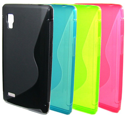 S Line Shape Tpu Case For Lg Optimus G Pro