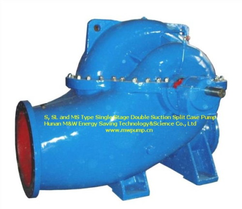 S Sl And Ms Type Single Stage Double Suction Split Case Pump