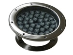 S1 Led Round Flood Fountain Light 24v Dc 108w Stainless Steel Lamp Body Toughened Glass 36 Piece