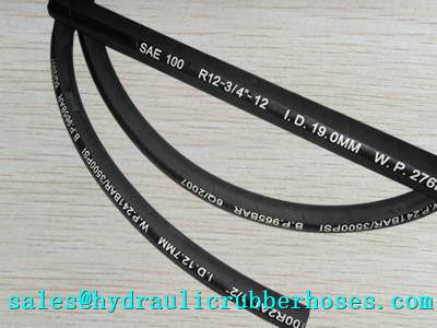 Sae J517 Type 100 R13 Hydraulic Hose