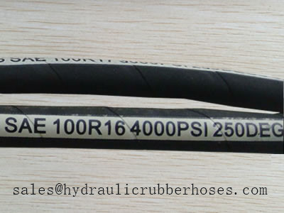 Sae J517 Type 100 R17 Hydraulic Hose