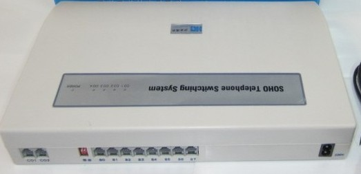 Samll 2co 8ext Telephone Exchange Pbx System