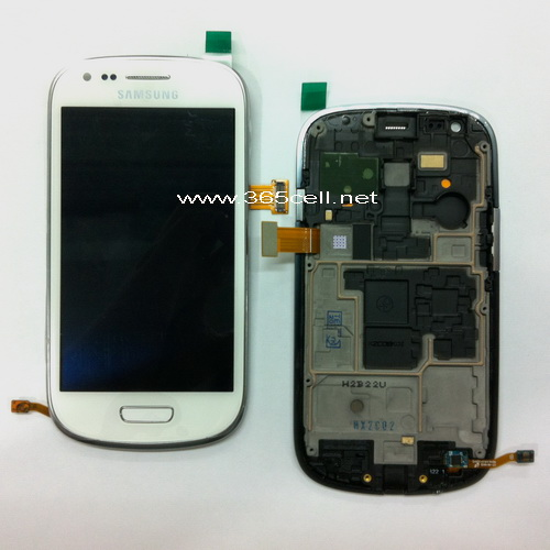 Samsung Galaxy S3 Mini I8190 Lcd And Digitizer Oem W Frame