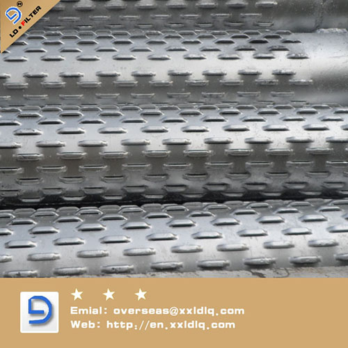 Sand Control Bridge Slotted Screen Pipe