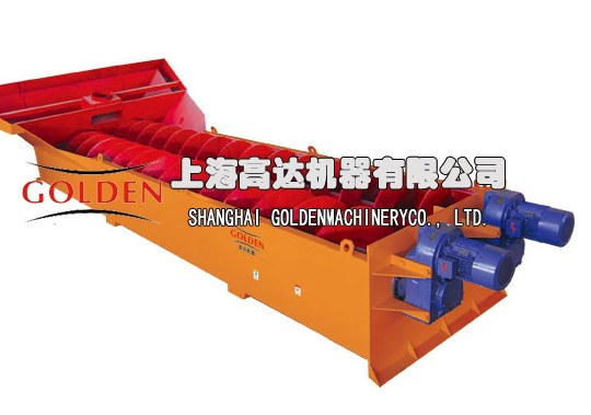 Sand Washing Machine Constituent Principle