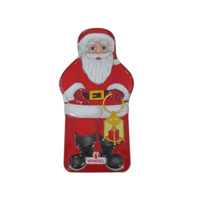 Santa Christmas Chocolate Tin Can