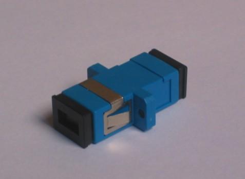 Sc/pc Singlemode Simplex Fiber Optic Adapter
