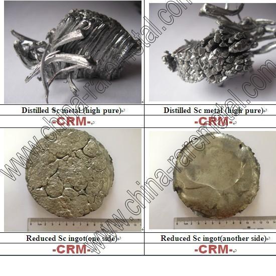 Scandium Metal Sc Rare Earth