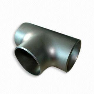 Sch40 Hot Rolled Alloy Steel Equal Tee From China Manufacture