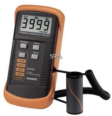Screen Brightness Illuminance Meter Sm208