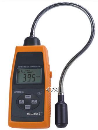 Screen Digital Lcd Combustible Flammable Gas Detectors Spd202
