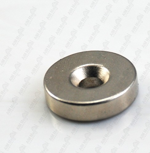Screw Hole Sintered Ndfeb Magnets