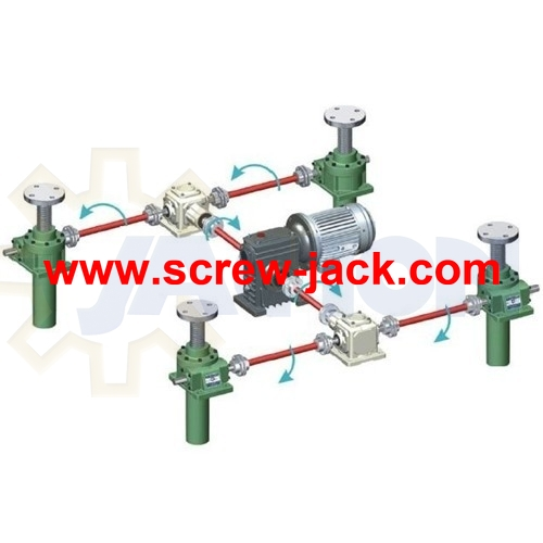 Screw Jack Lifting System Linear Actuator Lift Table Platform
