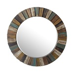 Seaside Pattern Mirrors
