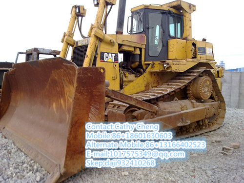 Second Hand Cat D9r Bulldozer